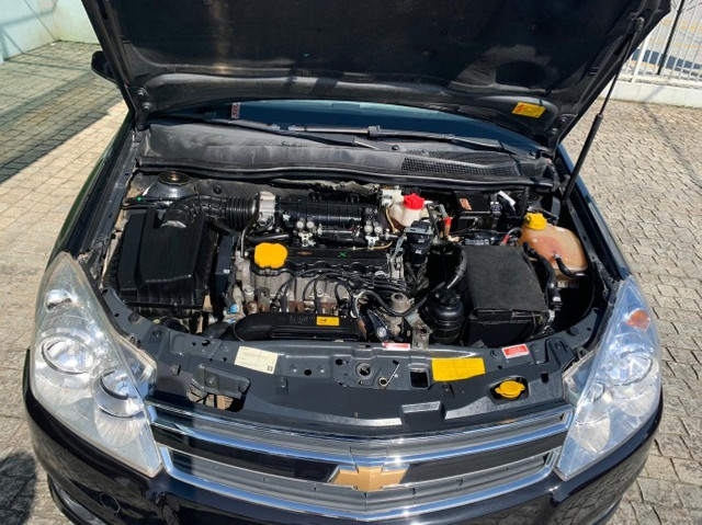 Vectra Sedan Elegance 2.0 completo preto (A/G/GNV) 2009 - Foto 6