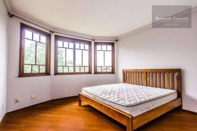 LF-CA0513-Casa com 4 dorm para alugar,472 m² por R$ 9.500/mês-São João-Curitiba/PR - Foto 5