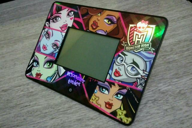 Brinquedo:Tablet Monster High Full Touch
