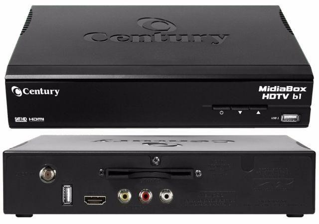 Receptor Century Midiabox Hdtv B2 Digital E Hd