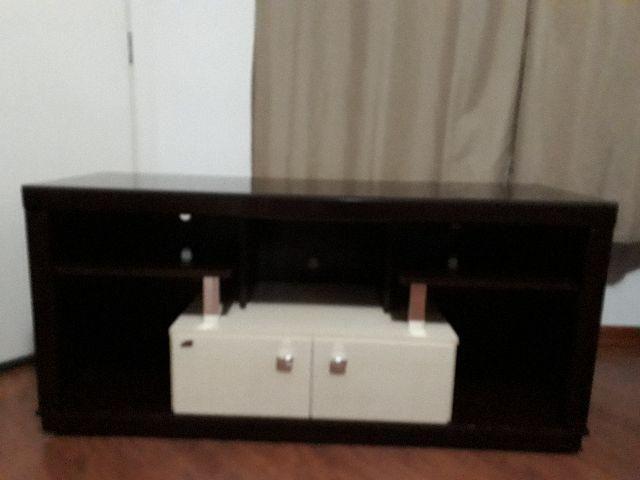 Rack Tv + Aparador + Brinde mesa de canto
