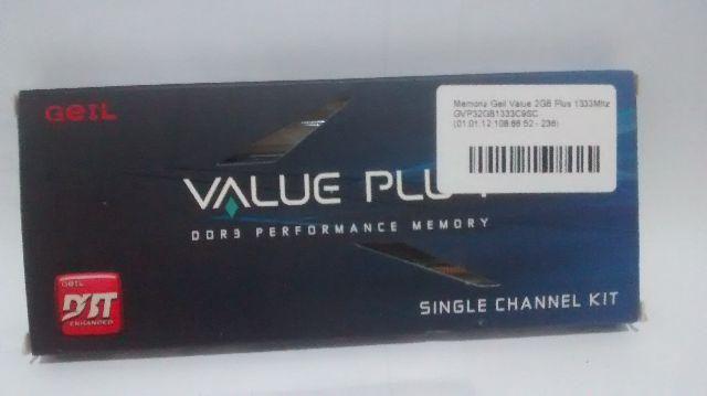 Memória Geil Value Plus
