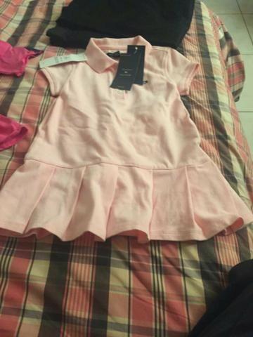 Vestido infantil Tommy Hilfiger, 2 anos