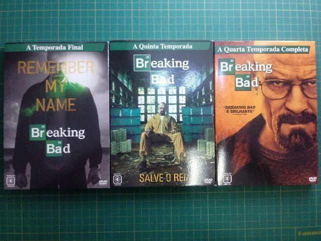 Box De Dvds Breaking Bad - 3 Temporadas