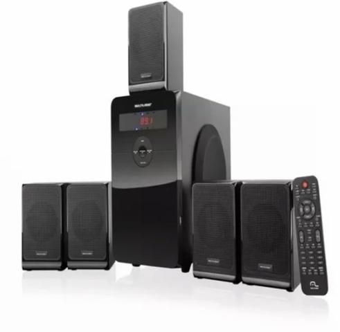 Hometheather multilaser 80w rms