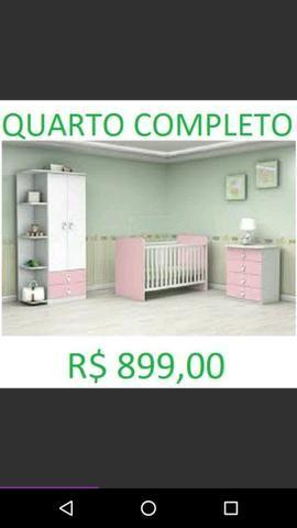 Oferta Imperdível de Belíssimo Quarto Infantil Completo por apenas R$899,00