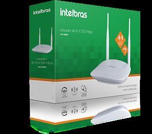 Roteador Wifi Intelbras 300mbps Iwr 3000n