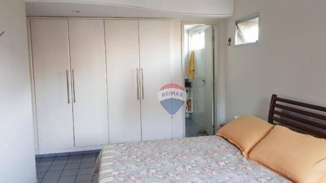 Apartamento com 3 dormitórios à venda, 106 m² por R$ 230.000,00 - Barro Vermelho - Natal/R - Foto 11