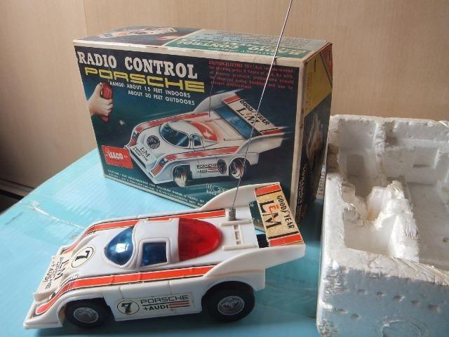 R$ 70 Porsche de controle remoto antigo, acompanha caixa! - Foto 3