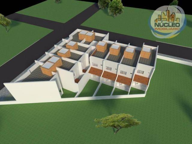 Sobrado com 2 dormitórios à venda, 68 m² por R$ 194.000,00 - Espinheiros - Joinville/SC - Foto 8