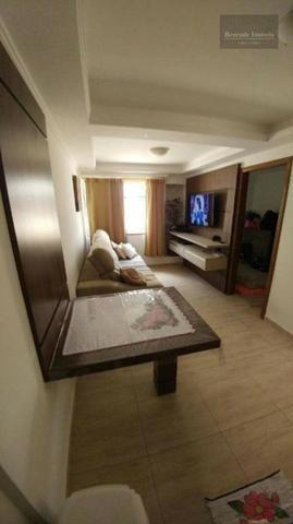 F-AP1457 Apartamento com 2 dormitórios à venda, 43 m² por R$ 139.000 no Fazendinha - Foto 2