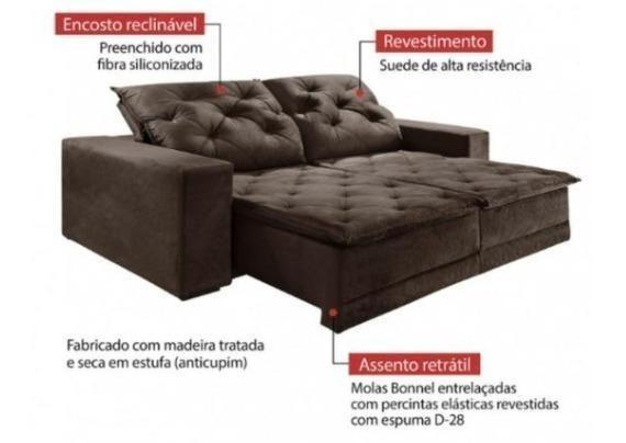 Sofa 290 de largura - M79 frete gratis