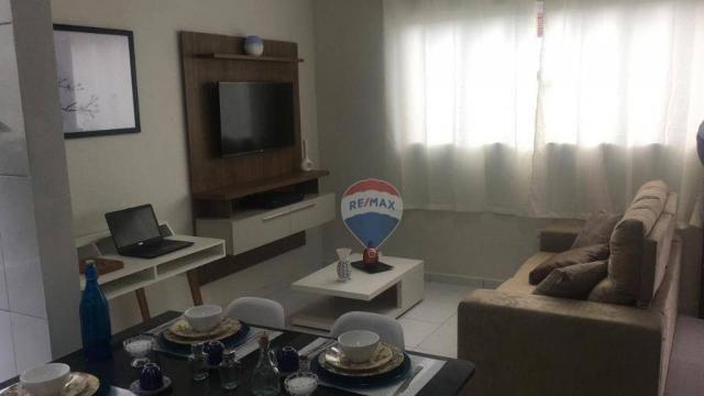 Casa à venda, 60 m² por R$ 110.000,00 - Cidade Jardim - São Gonçalo do Amarante/RN - Foto 2
