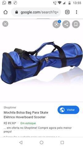 Hoverbord skate elétrico smart balance com bluetooth+ bolsa - Foto 6