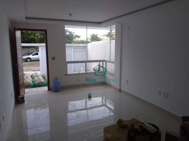 Casa com 3 dormitórios à venda, 115 m² por R$ 370.000 - Ouro Verde - Rio das Ostras/RJ - Foto 8