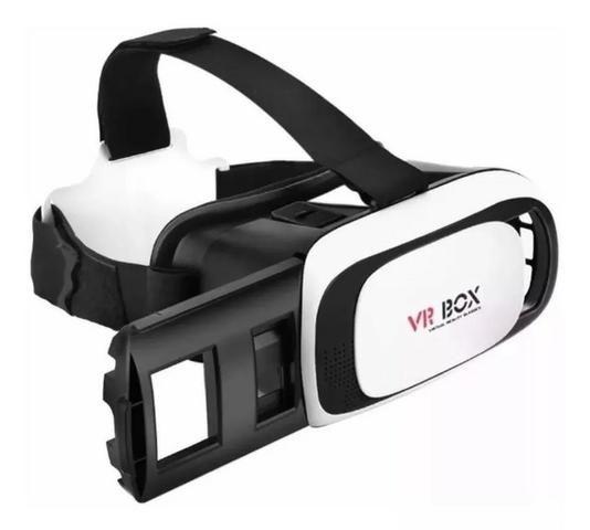 Óculos Vr Box 2.0 Realidade Virtual 3d Android Ios Controle - Foto 2