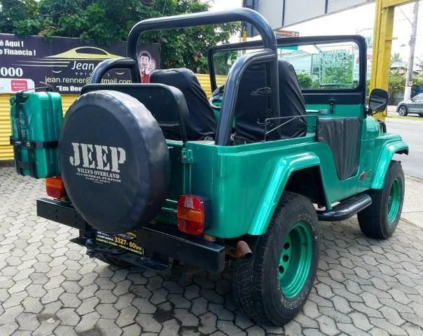 Jeep Willys 4x4 gasolina 1966/66. Muito novo. Raridade! Confira! - Foto 4
