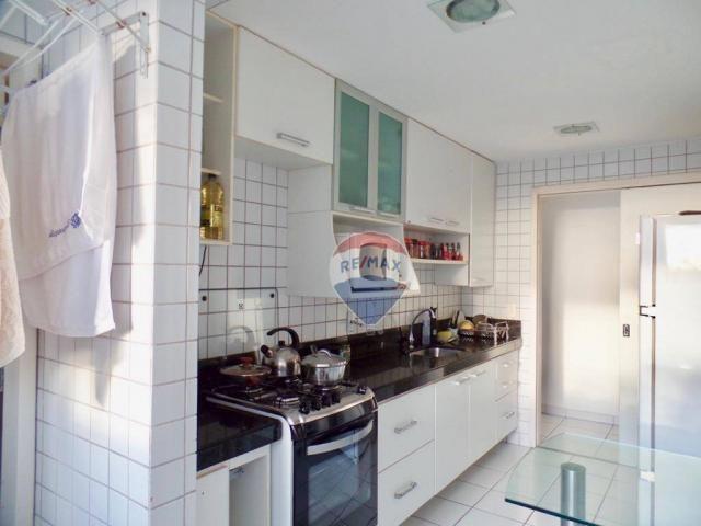 Apartamento com 3 dormitórios à venda, 97 m² por R$ 400.000,00 - Tirol - Natal/RN - Foto 7