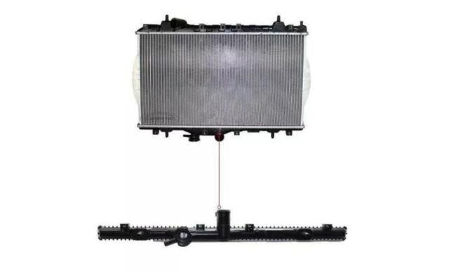 Radiador Arrefecimento Motor Jac J3 Hatch, J3 Turin 1.4 E 1.5 - Foto 2