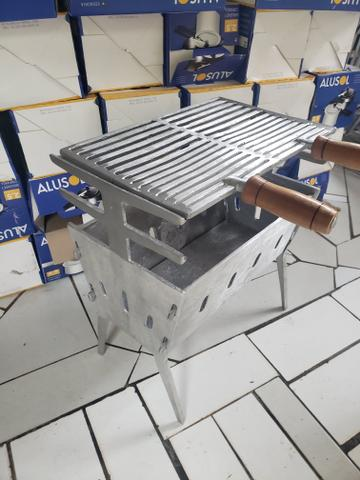 Vendo churrasqueiras desmontável - Foto 2