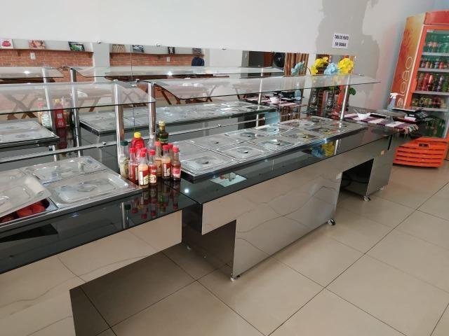 Self service buffet em tam. e mod. diferentes (restaurantes) - NOVO - Foto 6
