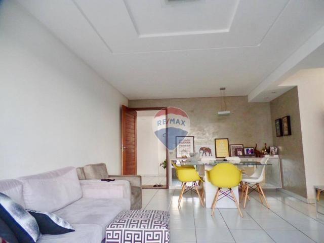 Apartamento com 3 dormitórios à venda, 97 m² por R$ 400.000,00 - Tirol - Natal/RN - Foto 3