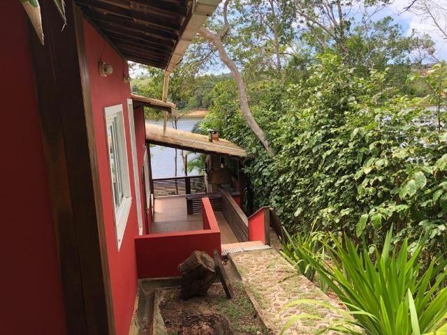 Casa 3/4 Praia do Forte, na beira da lagoa Aruá, contato direto com a natureza - Foto 5