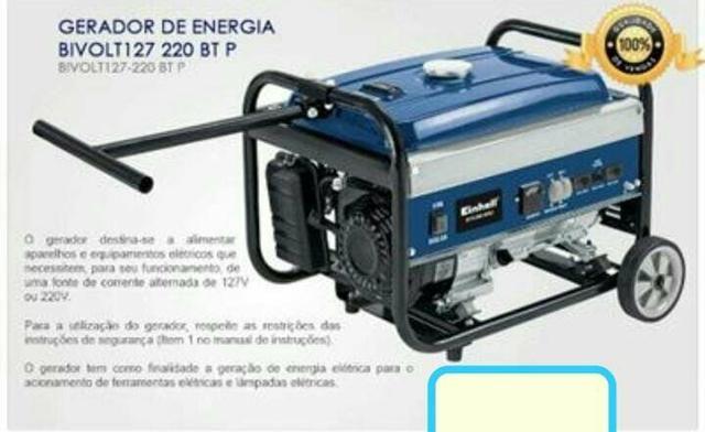 Gerador de energia 2.300,00( Vende-se ou troca-se)