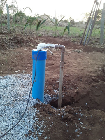 Limpeza/manutenção mini poço