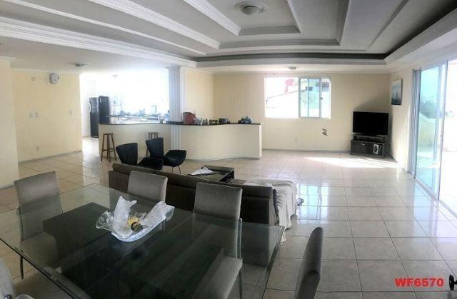 Casa duplex com 3 quartos, vista mar, 6 vagas, nascente, piscina, Bairro de Lourdes, Dunas - Foto 2