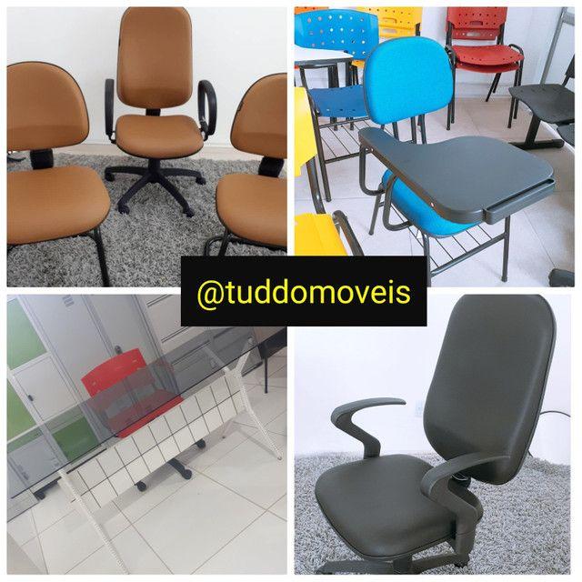 Cadeiras Escritório Tuddo Moveis - Foto 3