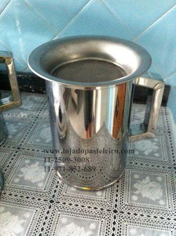 Jarra / Bule e Aparador Para caldo de Cana Profissional Inox - Foto 4
