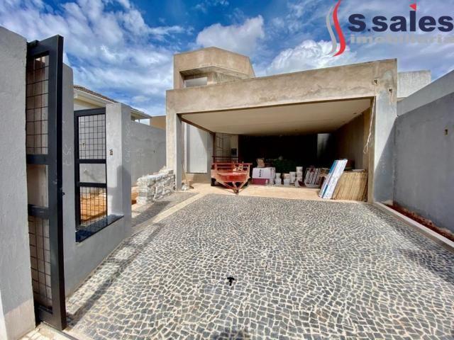 Linda Casa em Vicente Pires com 03 Suítes - Lazer Completo! Brasília DF - Foto 2