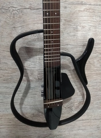 Violao Yamaha Silent SLG 100 Mixer Instrumentos Musicais - Foto 2