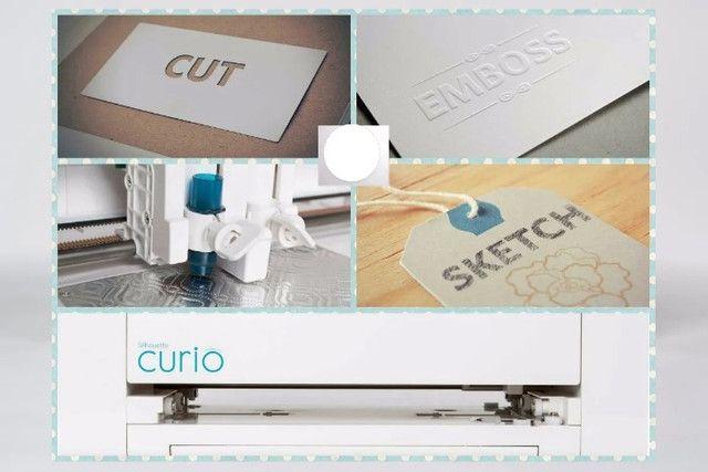 Cameo Curio máquina de recorte eletronico - Foto 3