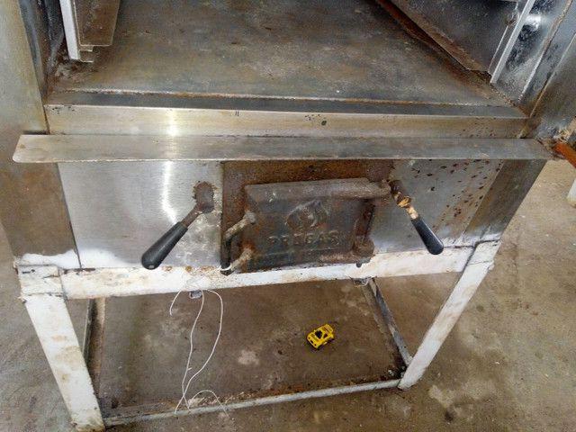 Vendo ou troco forno turbo a lenha de padaria - Foto 6