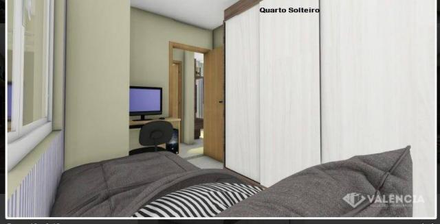 Apartamento com 1 dormitórios à venda, 39 m² por R$ 175.000,00 - São Cristóvão - Cascavel/ - Foto 11