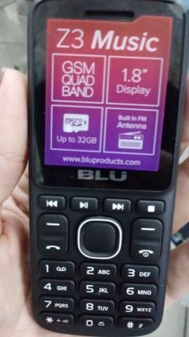 Telefone Celular Blu Z3 Dois Chips Com Câmera Original Idoso - Foto 6