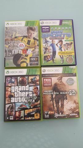Xbox 360 super slim seminovo com kinect mais 4 jogos - Foto 4