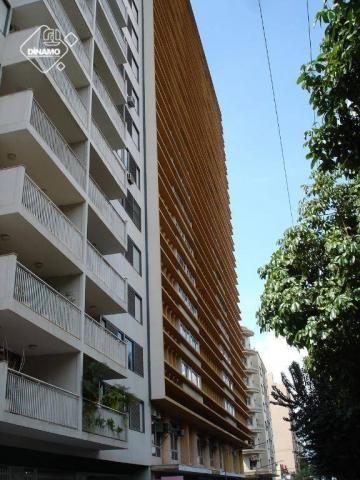 Apartamento com 2 dormitórios para alugar, 93 m². - centro - ribeirão preto/sp