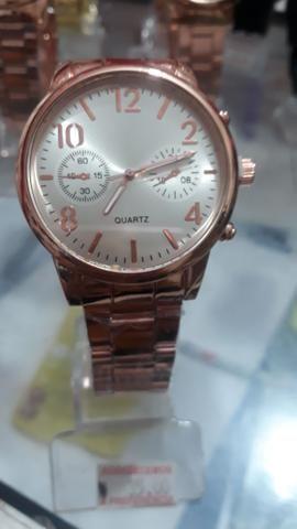 Relógios masculinos e femininos 35,00 - Foto 3