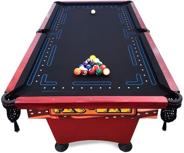 Mesa de Sinuca Pac Man (Pool Table) - mesa de bilhar mais famosa dos Estados Unidos