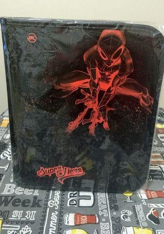 Fichário Universitário Spider-Man Grande com Ziper (Marvel) / Por R$ 97,00 - Foto 2