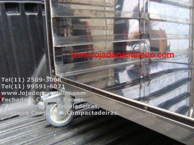 Gaveteiro Térmico Inox/Armário Para Pastéis - Pasteleiro de Feira Pagamento Facilitado - Foto 5