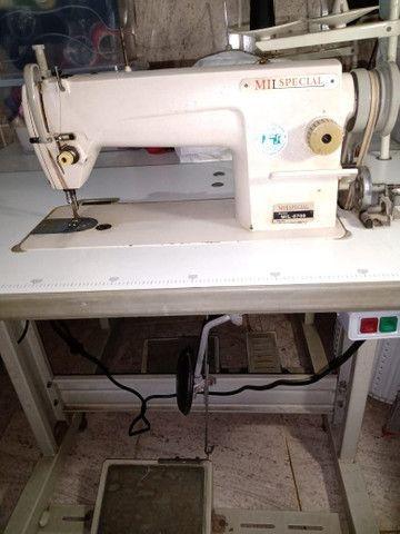 Máquina de costura Reta e Overlok - Foto 4