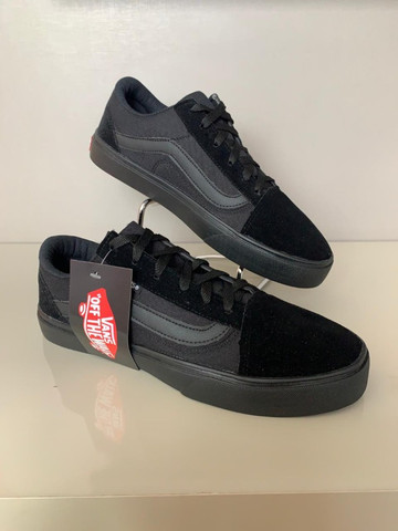 Vans old skool Preto - Foto 4
