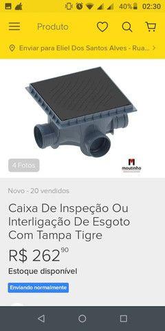 Vende caixa de inspeção tigre - Foto 2