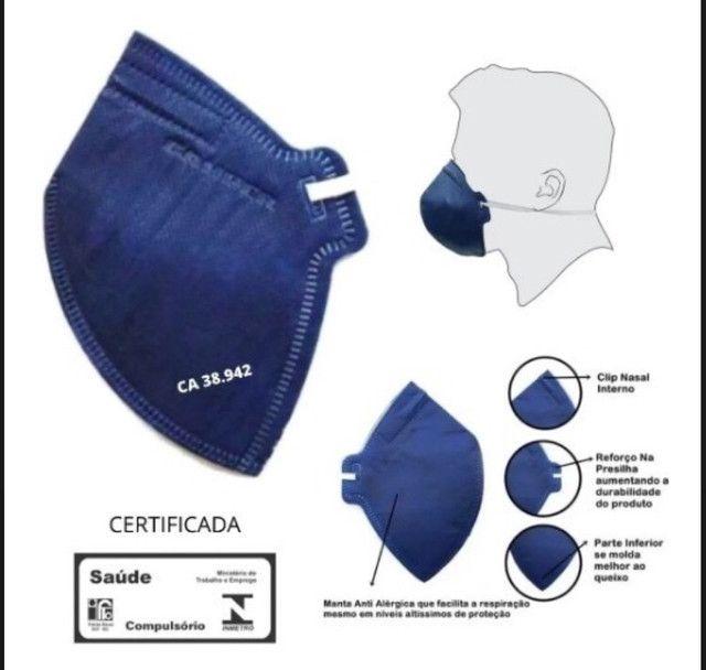 Respirador máscara CAMPER PFF2 equivalente ao N95 R$6,5 - Foto 2