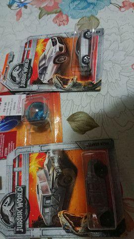 Coleção Jurassic Park Match Box