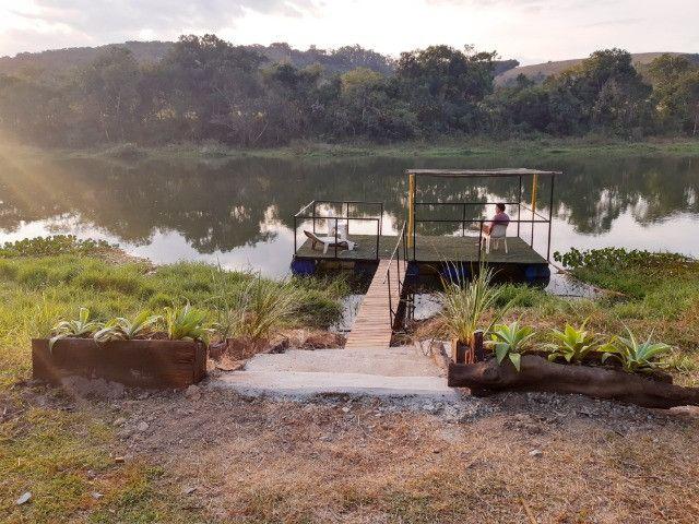 Salão de eventos rústico Beira de rio - Foto 17